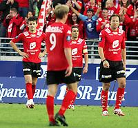Fotball Tippeliga<br />Viking Stadion 240607<br />Viking - Brann<br />Foto: Sigbjørn Andreas Hofsmo, Digitalsport<br /><br />Martin Andresen - Erik Bakke
