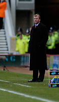 Photo: Leigh Quinnell.<br /> Middlesbrough v Manchester City. The Barclays Premiership. 31/12/2005. Middlesbrough boss  Steve McClaren looks on.