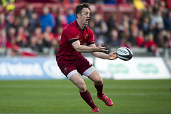 September 9, 2017 - Limerick, Ireland - Darren Sweetnam of Munster in action during the Guinness PRO14 rugby match between Munster Rugby and Cheetahs Rugby at Thomond Park in Limerick, Ireland on September 9, 2017  (Credit Image: © Andrew Surma/NurPhoto via ZUMA Press)