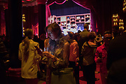 Hermes party to celebrate the opening of their new store in the Meatpacking district, 300 Vesey st.   New York. 4 April 2019