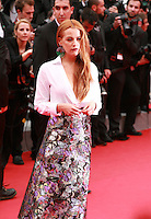 Riley Keough at the Foxcatcher gala screening red carpet at the 67th Cannes Film Festival France. Monday 19th May 2014 in Cannes Film Festival, France.