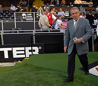 Photo: Daniel Hambury.<br />Fulham v Chelsea. The Barclays Premiership. 23/09/2006.<br />England assistant manager Terry Venables attends the game.