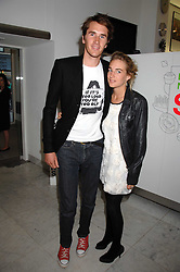 OTIS FERRY and FRANCESCA NEMMO at a reception hosted by Vogue magazine to launch photographer Tim Walker's book 'Pictures' sponsored by Nude, held at The Design Museum, Shad Thames, London SE1 on 8th May 2008.<br /><br />NON EXCLUSIVE - WORLD RIGHTS