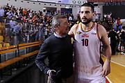 Claudio Toti Massimo Chessa<br /> Virtus Roma - Roseto Sharks<br /> Campionato Basket LNP 2017/2018<br /> Playout Gara 3<br /> Roma 06/05/2018<br /> Foto Gennaro Masi / Ciamillo - Castoria