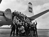 Rugby 08/05/1961 Irish Team leaves for South African Tour