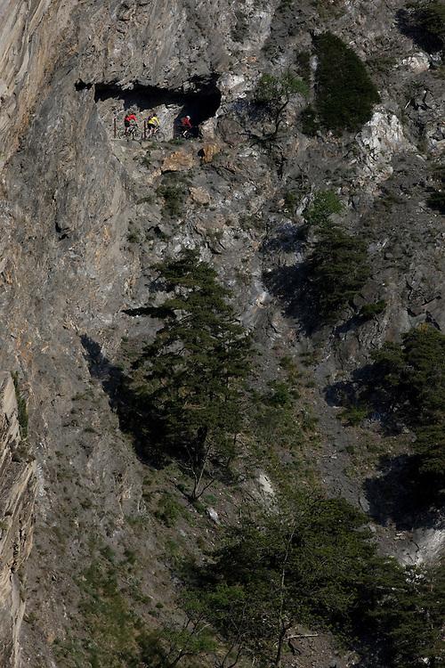 Riders: Thomas Giger, Damian Perri, Martin Gerber  Location: Visp (Switzerland)