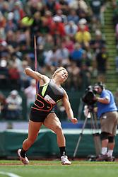 2012 USA Track & Field Olympic Trials: Brittany Borman, womens javelin