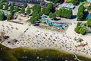 Nederland, Noord-Brabant, Hilvarenbeek, 23-08-2016; Speelland Beekse Bergen, attractiepark en speeltuin.<br /> Playland Beekse Bergen, amusement park and playground.<br /> aerial photo (additional fee required); <br /> luchtfoto (toeslag op standard tarieven);<br /> copyright foto/photo Siebe Swart