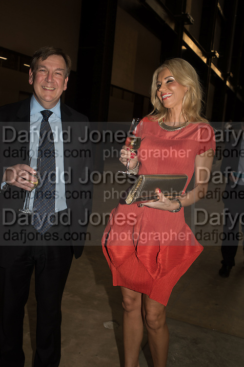 JOHN WHITTINGDALE; KRISTINA BOBS, The £100,000 Art Fund Prize for the Museum of the Year,   Tate Modern, London. 1 July 2015