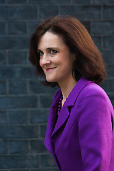 London, February 24th 2015. Ministers arrive at the weekly cabinet meeting at 10 Downing Street. PICTURED: Secretary of State for Northern Ireland Theresa Villers