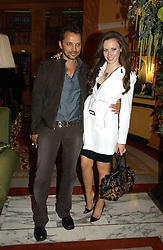 CAMILLA AL FAYED and GERRY DE VEAUX at a party to celebrate the opening of The Bar at The Dorchester, Park Lane, London on 27th June 2006.<br /><br />NON EXCLUSIVE - WORLD RIGHTS