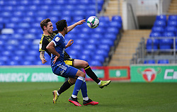 Sam Nicholson of Bristol Rovers tries to lift the ball over the head of Andre Dozzell of Ipswich Town - Mandatory by-line: Arron Gent/JMP - 05/09/2020 - FOOTBALL - Portman Road - Ipswich, England - Ipswich Town v Bristol Rovers - Carabao Cup
