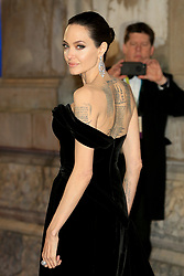 attend the EE British Academy Film Awards at the Royal Albert Hall in London, UK. 18 Feb 2018 Pictured: Angelina Jolie. Photo credit: Fred Duval / MEGA TheMegaAgency.com +1 888 505 6342