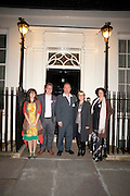 LAUREN BAKER; BEN FERRER; CHRISTIAN COTTON; HELEN COGGINS; VICTORIA SHENTON, , Streetsmart Reception at 11 Downing St. London. 1 November 2011. <br /> <br />  , -DO NOT ARCHIVE-© Copyright Photograph by Dafydd Jones. 248 Clapham Rd. London SW9 0PZ. Tel 0207 820 0771. www.dafjones.com.