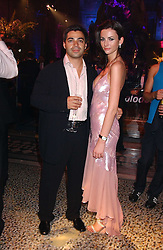 Leading cosmetic surgeon YANNIS ALEXANDRIDES and MARIE DONOHUE at the opening party for Diamonds - a new exhibition at The Natural History Museum, London in association with De Beers held on 6th July 2005.<br /><br />NON EXCLUSIVE - WORLD RIGHTS