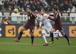 January 6, 2018 - Turin, Italy - Cristian Molinaro  during Serie A match between Torino v Bologna, in Turin, on January 6, 2018  (Credit Image: © Loris Roselli/NurPhoto via ZUMA Press)