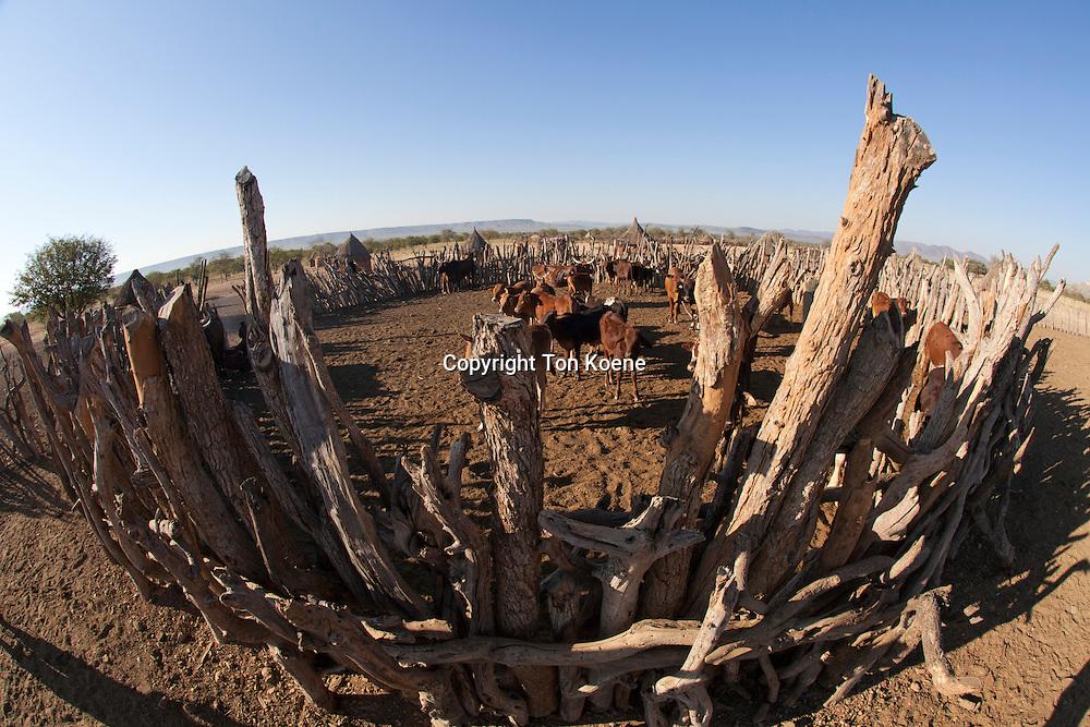 Himba tribe in Namibia.