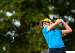 Auchterarder, Scotland, UK. 10 September 2019. Day one of the Junior Solheim Cup 2019 at the Centenary Course at Gleneagles. Tuesday Morning Foursomes. Pictured Hannah Darling of Europe.  Iain Masterton/Alamy Live News