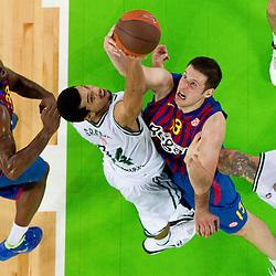 20111020: SLO, Basketball - Euroleague, KK Union Olimpija vs FC Barcelona Regal