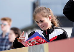 Spectator at the FA WSL 1 match between Bristol City Women and Manchester City Women at Stoke Gifford Stadium - Mandatory by-line: Paul Knight/JMP - 20/05/2017 - FOOTBALL - Stoke Gifford Stadium - Bristol, England - Bristol City Women v Liverpool Ladies - FA Women's Super League Spring Series