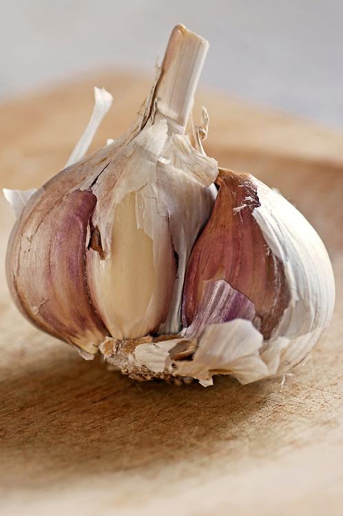 Bulb of garlic.