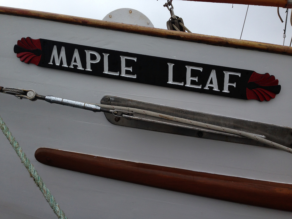 SV Maple Leaf, Port of Sidney, British Columbia, Canada