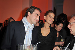 PRINCE & PRINCESS NIKOLAOS OF GREECE at the TOD'S Art Plus Drama Party at the Whitechapel Gallery, London on 24th March 2011.