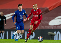 LIVERPOOL, ENGLAND - Thursday, March 4, 2021: Liverpool's Fabio Henrique Tavares 'Fabinho' during the FA Premier League match between Liverpool FC and Chelsea FC at Anfield. Chelsea won 1-0 condemning Liverpool to their fifth consecutive home defeat for the first time in the club's history. (Pic by David Rawcliffe/Propaganda)