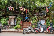 Bar and cafe in Luang Prabang.