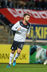 Falkirk's Rory Loy.<br /> Falkirk 0 v 5 Aberdeen, the third round of the Scottish League Cup.<br /> ©Michael Schofield.