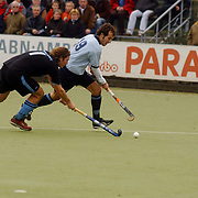 Hockey heren 1 Laren - HGC, Christian Wein (19)