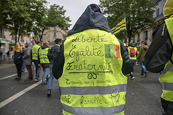 May 4, 2019 - The jilet jaunes march across Paris streets claiming against president Macron policies (Credit Image: © Maximiliano RamosZUMA Wire)