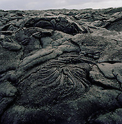 Cooled lava rock formation, Hawaii Volcanoes National Park, Hawaii, USA