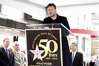 4/12/2010 Russell Crowe speaks at his Hollywood Walk of Fame ceremony