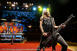 Jackyl performing at the Full Throttle Saloon during the Sturgis Motorcycle Rally. SD, USA. Thursday, August 12, 2021. Photography ©2021 Michael Lichter.