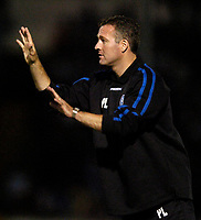 Photo: Richard Lane.<br />Bristol Rovers v Wycombe Wanderers. Coca Cola League 2. 08/08/2006. <br />Wycombe manager, Paul Lambert.