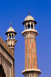 July 21, 2019 - Minaret Of A Mosque, Jama Masjid, New Delhi, India (Credit Image: © Bilderbuch/Design Pics via ZUMA Wire)