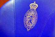Nederland, Den Haag, 5-1-2019 Stoel, zetel in de tweede kamer der staten generaal. politiek, verkiezingen, volksvertegenwoordiging, democratie . Foto: Flip Franssen