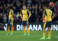 Arsenal's Mesut Ozil looks on dejected after going behind during the Premier League match at Selhurst Park Stadium, London. Picture date: April 10th, 2017. Pic credit should read: David Klein/Sportimage