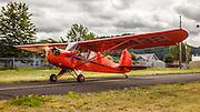 1940 Aeronca 65-TC at Wings and Wheels at Oregon Aviation Historical Society.