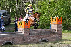 Arnauts Michiel, BEL, Hermes vh Hazepad<br /> Nationale LRV-Eventingkampioenschap Ponies Minderhout 2017<br /> © Hippo Foto - Kris Van Steen<br /> 30/04/17
