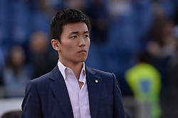 May 20, 2018 - Rome, Italy - Steven Zhang  during the Italian Serie A football match between S.S. Lazio and F.C. Inter at the Olympic Stadium in Rome, on may 20, 2018. (Credit Image: © Silvia Lore/NurPhoto via ZUMA Press)