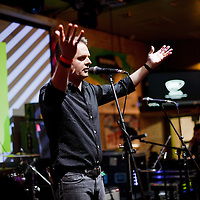 Picture shows :<br /> Vic Galloway pictured in Austin, Texas at The Creative Scotland showcase at the British Music Embassy at Latitude just off 6th street in downtown Austin.<br /> Picture  © Drew Farrell<br /> 14th March 2014<br /> Led by singer-songwriter Neil Pennycook<br /> <br /> <br /> Creative Scotland is supporting a Scottish music showcases at South by South West (SxSW), the world's most prestigious international showcase for contemporary music.  <br /> SxSW is one of the largest and most important events in the music industry calendar and recognised as providing an important platform for artists to develop their careers internationally.<br /> <br /> <br /> <br /> Media Contact<br /> Sophie Bambrough<br /> E: sophie.bambrough@creativescotland.com<br /> T: 07747606146