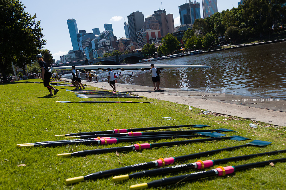 The boat sheds on the Yarra have come back to life during the 35th day of zero COVID-19 cases in Victoria, Australia. School and community sport is ramping up and as the weather improves, more people are venturing out and about to enjoy this great city. Pressure is mounting on Premier Daniel Andrews to keep his promise of removing all remaining restrictions. (Photo by Dave Hewison/Speed Media)