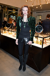 Actress ELEANOR TOMLINSON at a party to celebrate the launch of the Monica Vinader London Flagship store at 71-72 Duke of York Square, London SW3 on 4th December 2014.