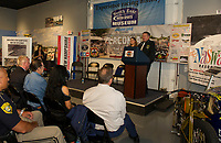 2019 kickoff event at the North East Motor Sports Museum for the 96th Laconia Motorcycle Week Rally.  Karen Bobotas for the Laconia Daily Sun