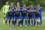 Bosnia team photo during the UEFA European Under 17 Championship 2018 match between Bosnia and Republic of Ireland at Stadion Bilino Polje, Zenica, Bosnia and Herzegovina on 11 May 2018. Picture by Mick Haynes.