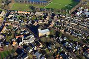 Nederland, Gelderland, Gemeente Voorst, 20-01-2011; Terwolde, dorpskern..The center of the village of Terwolde..luchtfoto (toeslag), aerial photo (additional fee required).copyright foto/photo Siebe Swart