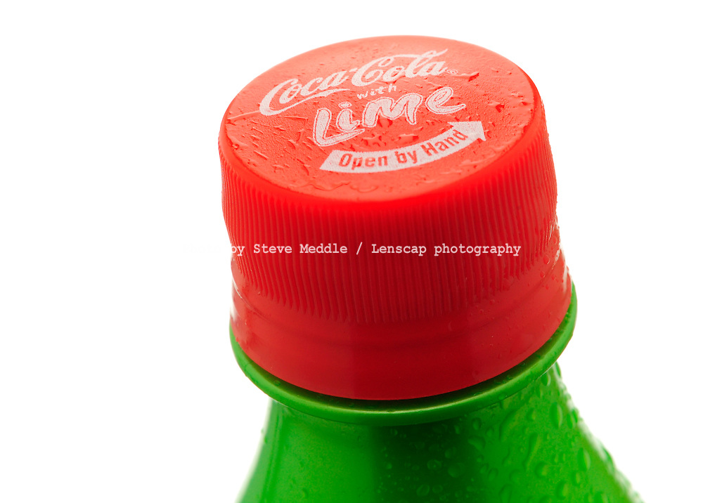 Bottle of Coca Cola with Lime Drink