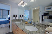 Architectural Interior of Post Carlyle Square Apartments Model Unit by Jeffrey Sauers of Commercial Photographics